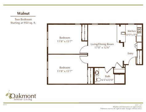 950 sq ft walnut 950 sq ft oakmont of santa clarita