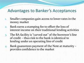 Letter Of Credit And Bankers Acceptance Banker S Acceptance