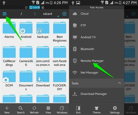 android file browser how to use a file manager in android drippler apps news updates accessories