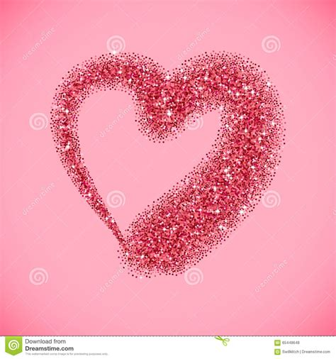 valentines day glitter images glitter for valentines day stock vector image