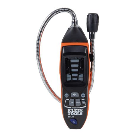 Plumbing Leak Detection Tools combustible gas leak detector et120 klein tools for