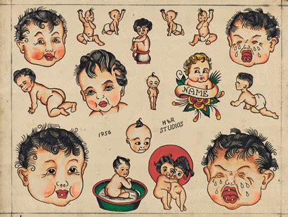 vintage tattoo flash jonathan shaw artwork from vintage flash tattoo wall street