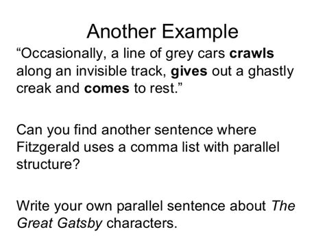 symbols in the great gatsby powerpoint gatsby syntax powerpoint 2