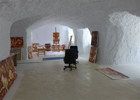 Living in a Cave in a Rural Part of Southern Spain   The