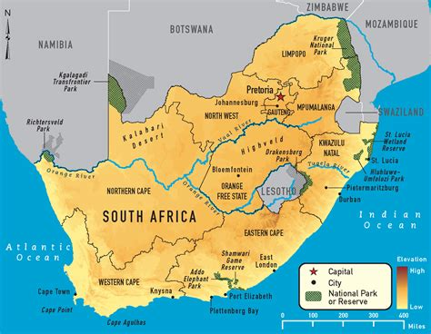 south africa map map of south africa images