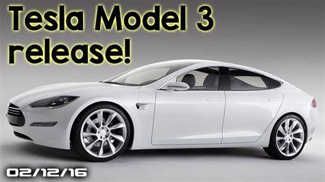 tesla model 3 release date honda civic hatchback new