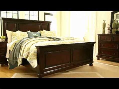 ashley furniture porter queen panel bed miskelly ashley furniture queen bedroom sets ashley furniture