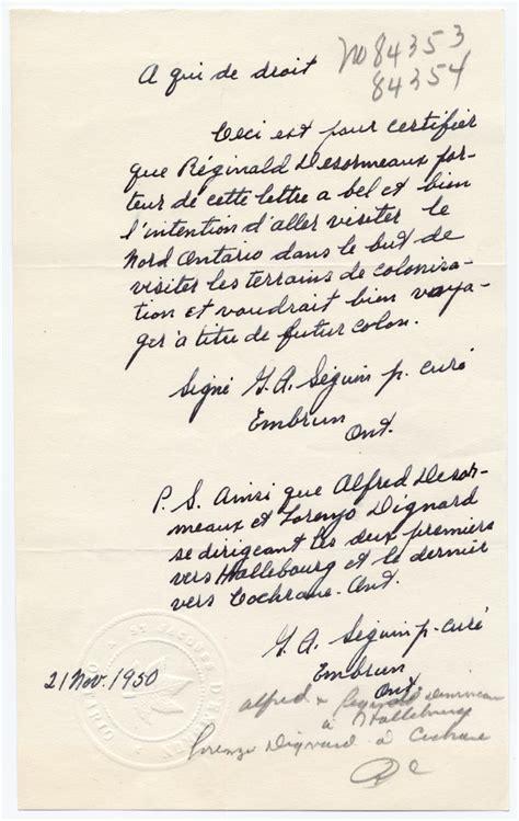 Lettre De Recommandation Th Se lettre du cur 233 g a s 233 guin 1950