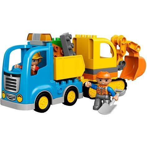Lego Duplo 10843 Mickey Racer Bad Box lego duplo truck tracked excavator 10812 construction