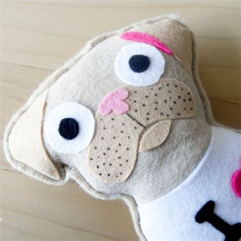 pug craft projects lovely felt pug craft ideas