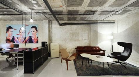 office space basement dzine trip basement warehouse transformed into a