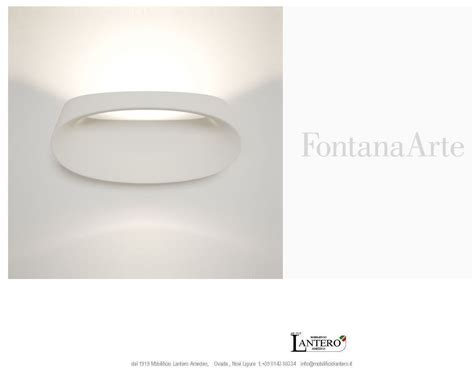 lada fontana di fontana arte led vendita on line illuminazione fontana arte applique