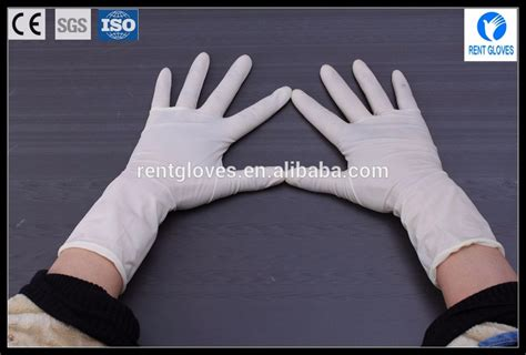 Disposable Gloves 1pair length rubber gloves surgical disposable glove
