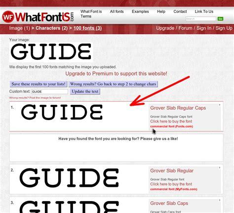 identify font from image identify a font fanart tv