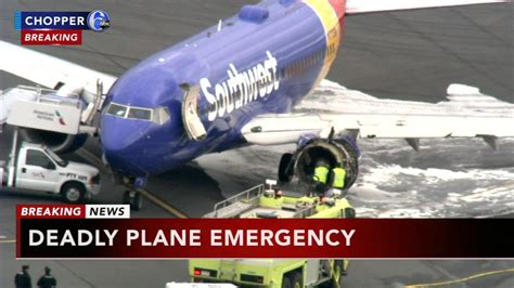 Lu Emergency L passenger on southwest plane that made emergency landing