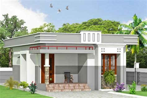 Simple Contemporary Home Design Kerala Home Design » Home Design 2017