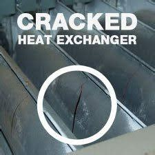 heat exchanger crack    signs your furnace has one | al's