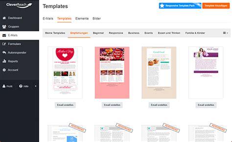Cleverreach Template Vorlage Layout Vorlagen Und Personalisierung Newsletter 6