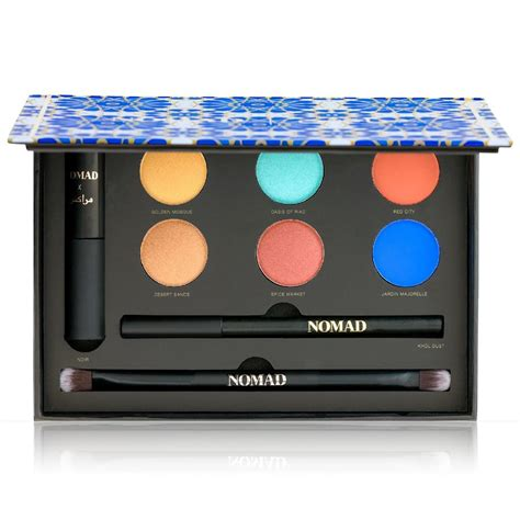 Palettes For Peta by Buzzbeeuty Nomad Cosmetics Marrakesh Soiree Set Review