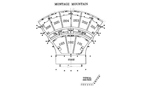 montage mountain seating chart styx road trip central archive nov 2000 through dec 2001