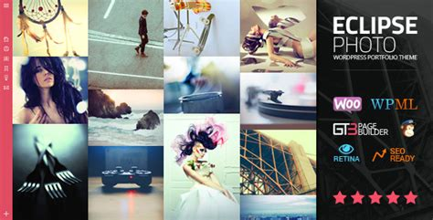 eclipse theme portfolio eclipse photo portfolio wordpress theme by gt3themes