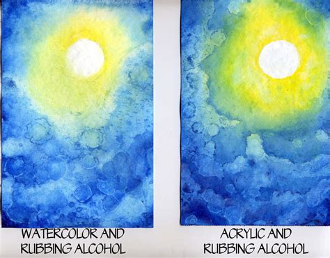 difference between and acrylic paint on canvas watercolor vs acrylic 1 by raspberrymetamorph on