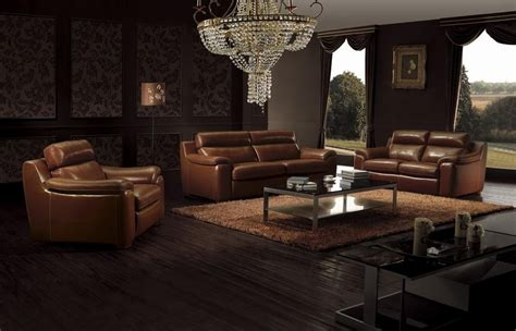 And Brown Living Room Furniture by Living Room Decorating Tips With Brown Leather Furniture