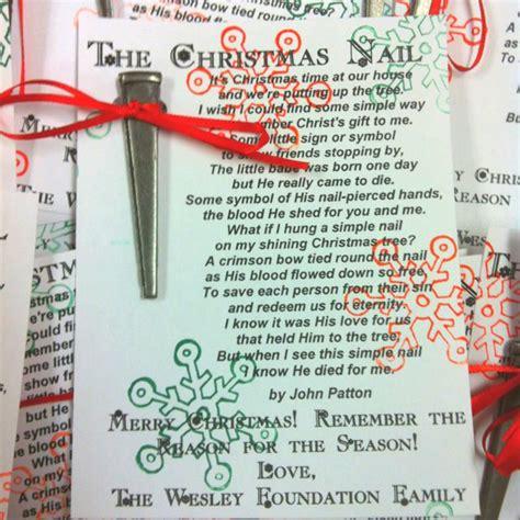 printable christmas nail poem the christmas nail christmas pinterest