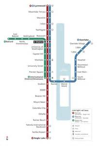 Link Light Rail Seattle Map by Ballard Uw Should Be The Next Light Rail Line In Seattle