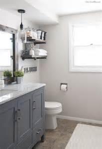 Hgtv Bathroom Designs Small Bathrooms Industrial Farmhouse Bathroom Reveal Cherished Bliss