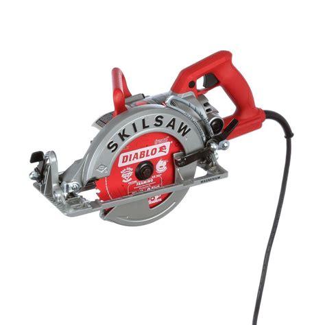 worm drive circular saw skilsaw 15 corded electric 7 1 4 in magnesium worm drive circular saw with 24 tooth carbide