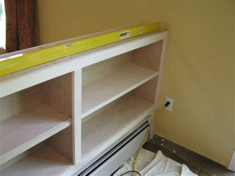 half wall bookcase page 5 of 6 a concord carpenter