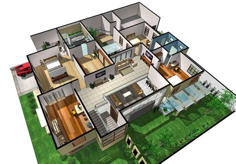 Basic Home Floor Plans sketchup ur space confession of an admirer