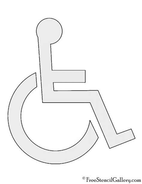 handicap template dollar sign free stencil gallery part 2