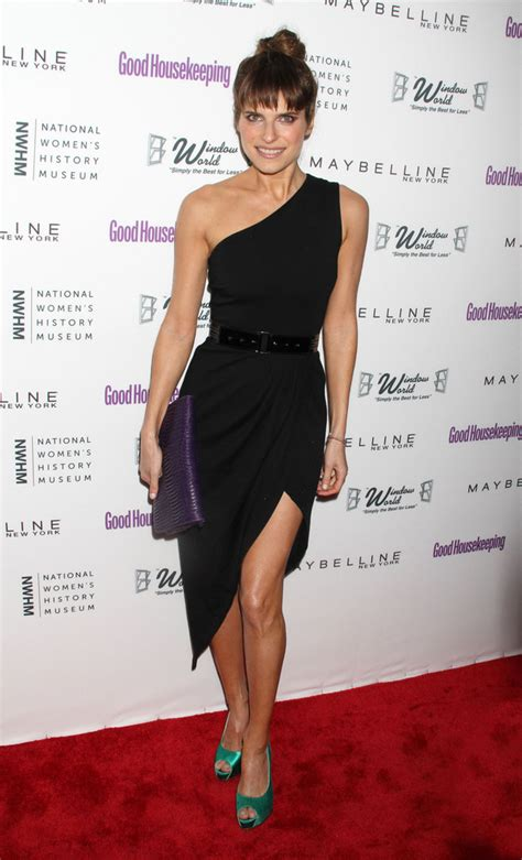 Style Lake Bell by Lake Bell One Shoulder Dress Lake Bell Clothes Looks