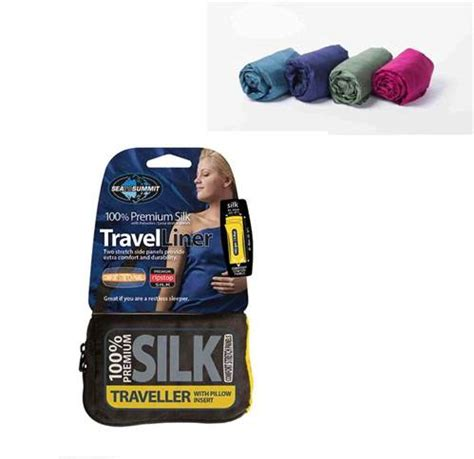 travel comfort items travel sleep liner silk liner stretch traveller with