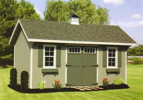 Backyard Wood Sheds by Outdoor Home Center Garden Backyard Wood Sheds