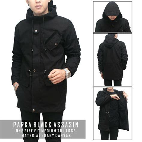 Jaket Parka Holy Premium jual jaket parka assasin premium pria warna hitam hijau di lapak code id codeid