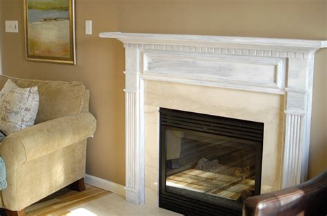 Fireplace Transformation by Fireplace Transformation In Progress Living Rich On