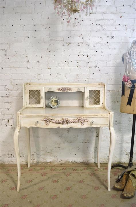 shabby chic white desk shabby chic desk