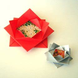Origami Gift Bow - origami