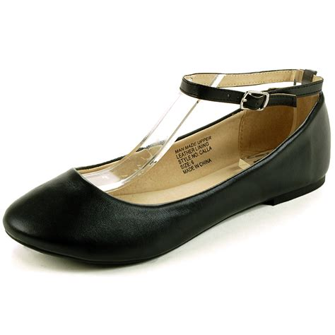 Flat Shoes alpineswiss calla womens ballet flats ankle shoe