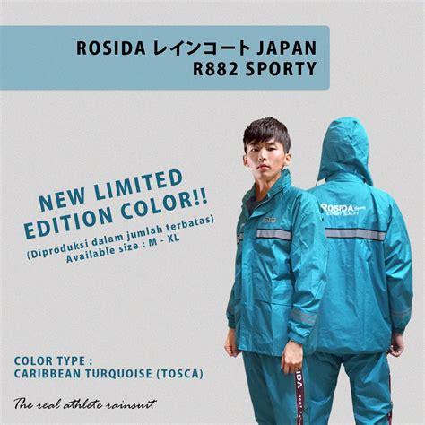Jas Hujan Rosida Sporty R882 jas hujan rosida r882 sporty edition lebih bagus dan tebal