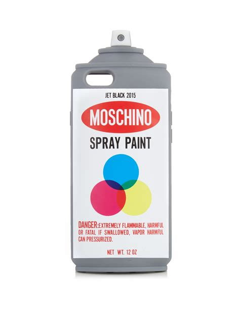 Moschino Spray Paint lyst moschino spray paint iphone 174 6