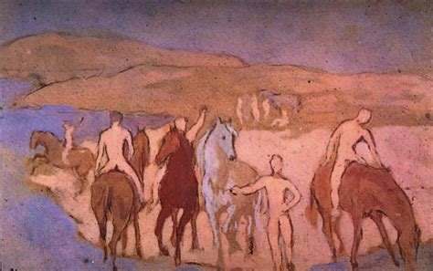 picasso paintings of horses epph picasso s boy leading a 1906