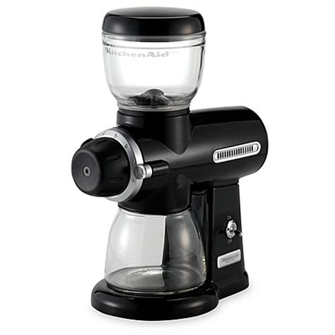 coffee grinder bed bath and beyond kitchenaid 174 pro line coffee mill bed bath beyond