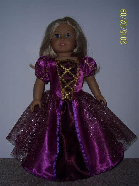 Handmade Rapunzel Dress - 17 best images about american doll rapunzel on