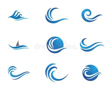 sea wave logos vector free stock vector wave logo stock vector illustration of icon