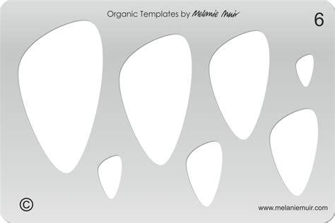 printable jewelry stencils no 6 clear acrylic template stencil melanie muir