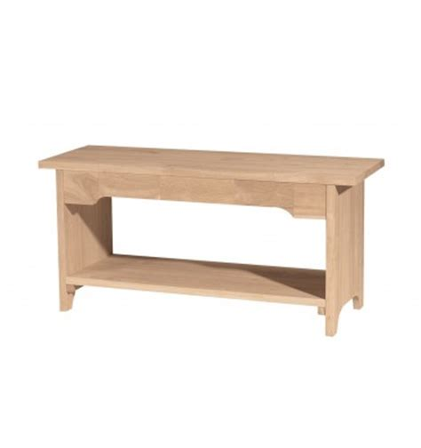 Storage Bench 32 Inches Wide 36 Inch Brookstone Benches Bare Wood Wood
